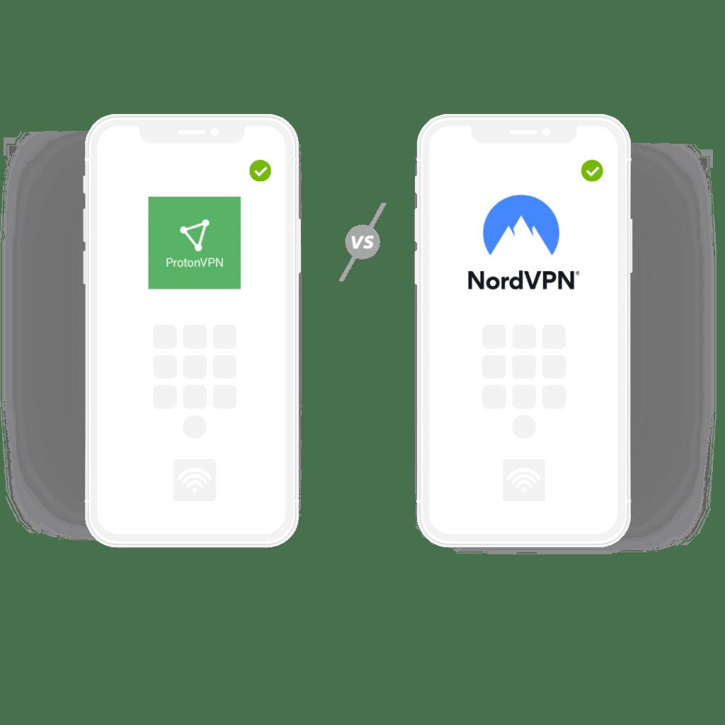 ProtonVPN vs NordVPN