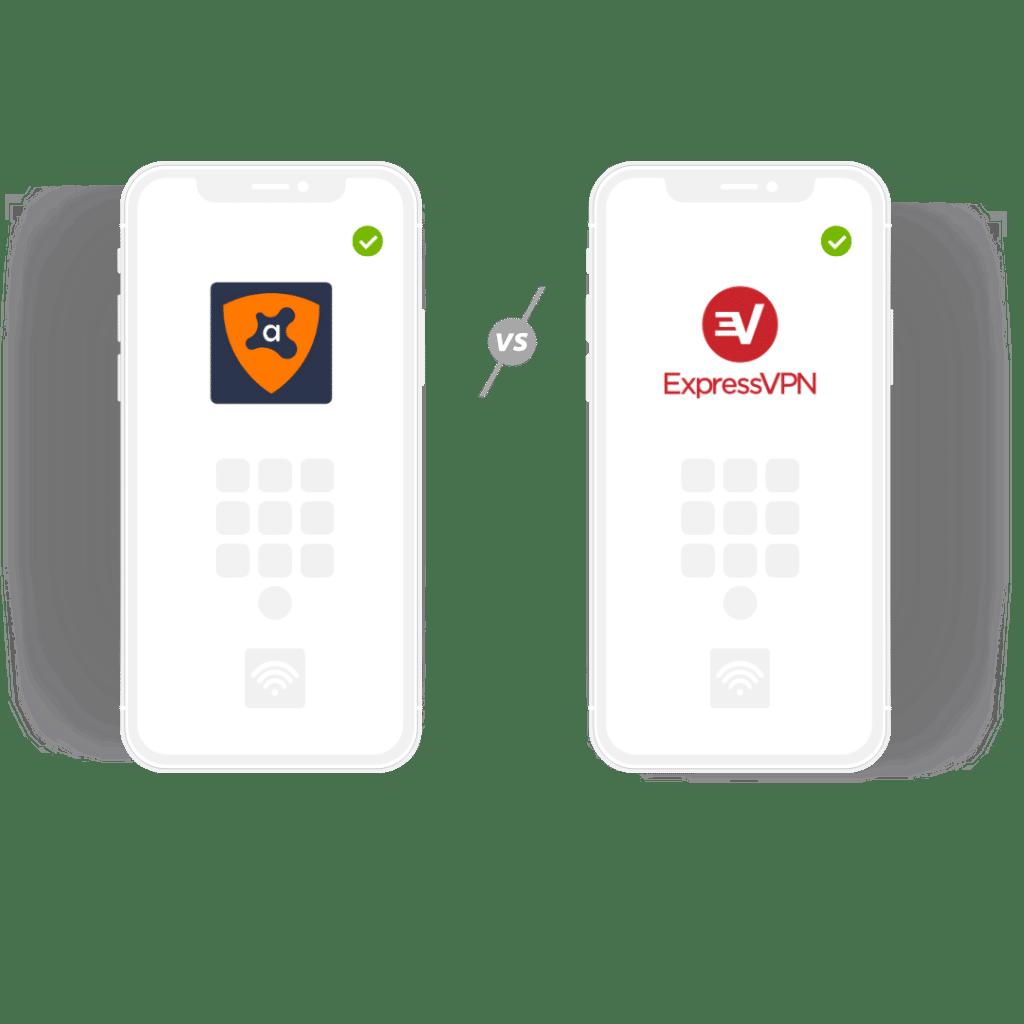 Avast VPN vs ExpressVPN