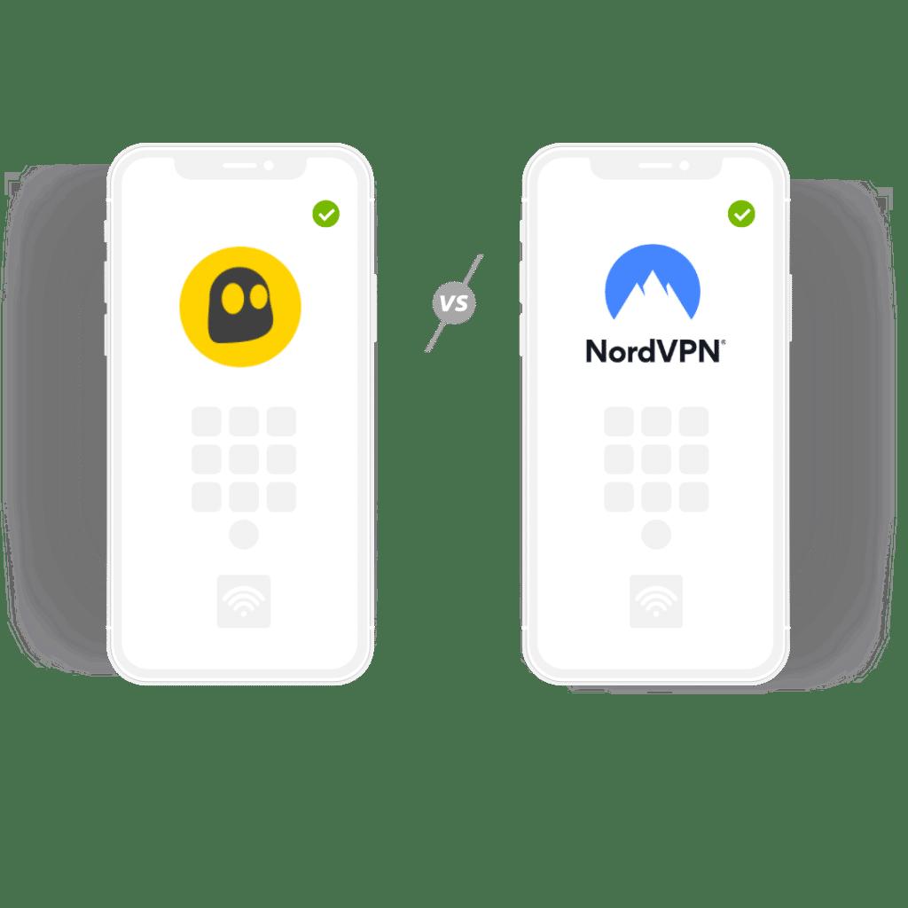 Cyberghost VPN vs NordVPN