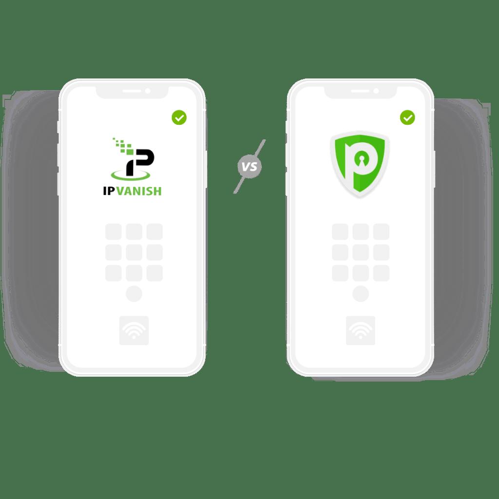 IPVanish vs PureVPN